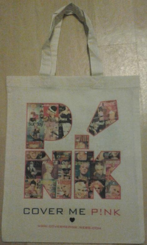 My friend Sanne's bag to me: front
